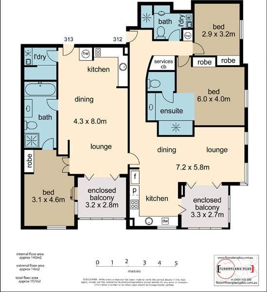 312A Floor Plan